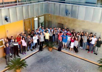Despedida a alumnos alemanes. Movilidad Erasmus KA1 de acogida