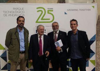 25 aniversario del PTA, con Felipe Romera y Juan Manuel Sánchez