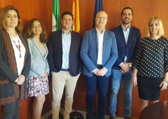 Reunión con el Consejero de Educación en Sevilla